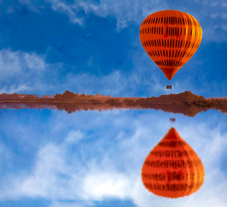 Balloon Reflection  -  Gary Prill