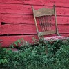 Red Barn and Chair-- Third Place  -  Nikki McDonald