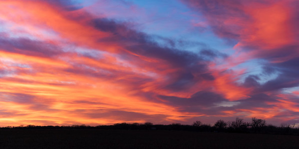 Pastel Sunset by Gaea  - Robert Bresley