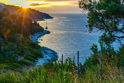 Paxos Greece Sunset  -  Dorothy Sansom