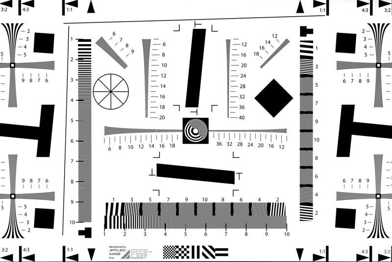 5D2-Resolution chart