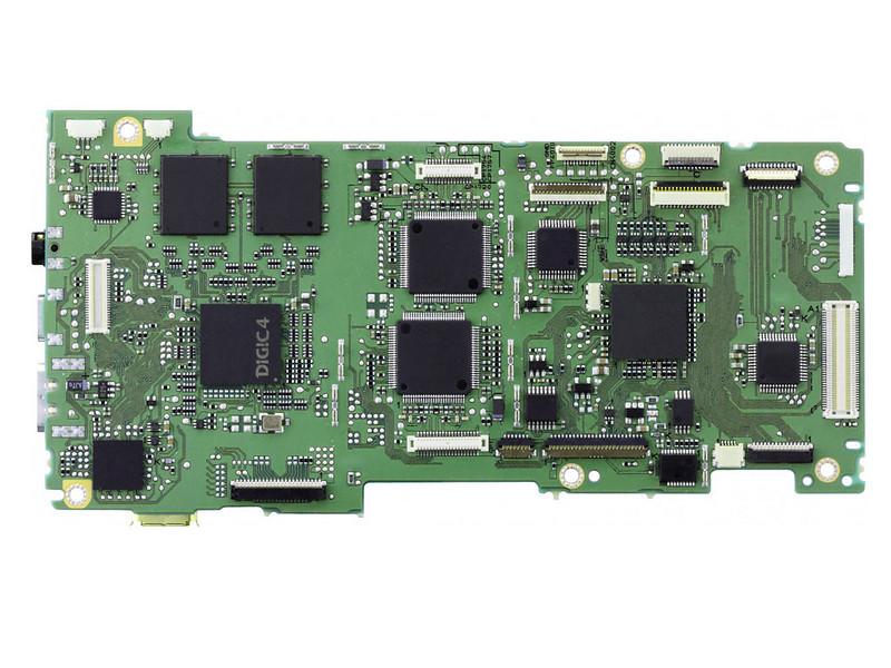 digic4 circuit board