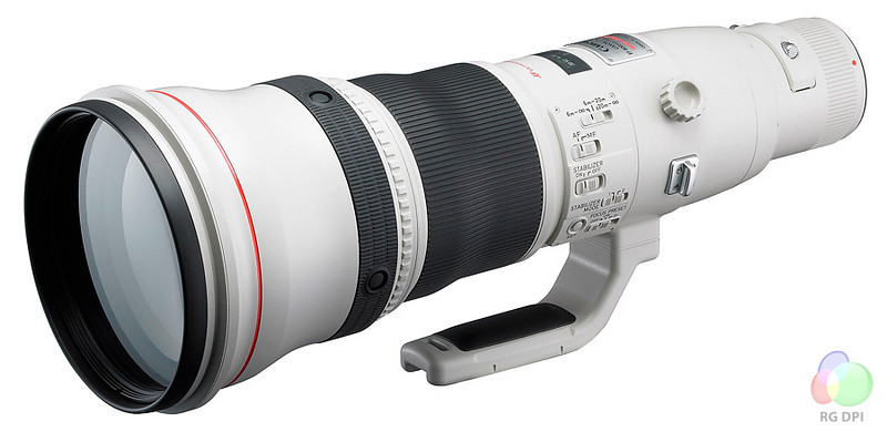 Canon 800mm f5.6L IS, 2007 version lens