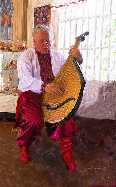 Ukranian Musician, Balboa Park, San Diego