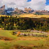 Mt. Snuffles, Co.  Digital painting using Painter XI.