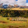 Mt. Snuffles, Co.  Digital painting using Painter XI.