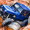 One of my Jeep club friends romping along a desert trail.  Rendered using Painter XI acrylic brushes and then applying some Photoshop contrast and saturation enhancements.
