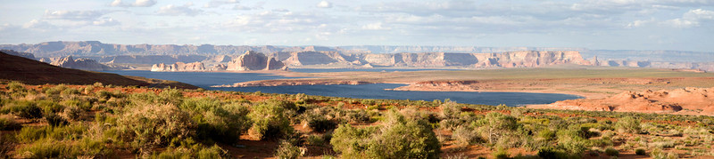 Lake Powell, Utah<br /> <br /> Photomerged from 5 images for creating panorama.