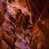 Deep slot canyon near Page AZ
