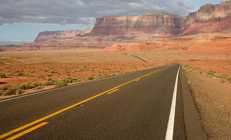 The Vermillion Cliffs near Page, AZ  Highway 89 South Alt.