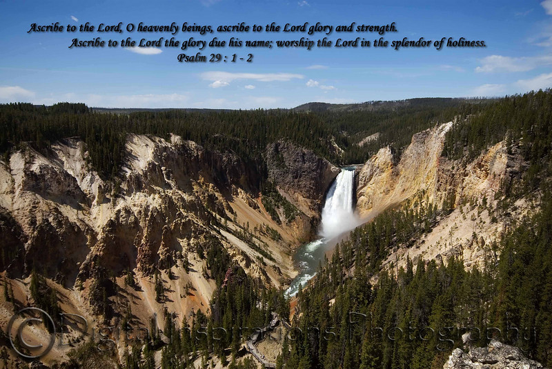 Yellowstone Canyon taken with Canon 30D and Sigma 10-20 Lens