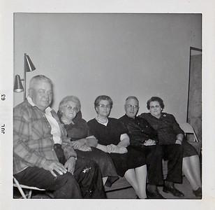 """""""Walt, Nellie Frad, Mary Bell, Joe & Edith Olson"""""""