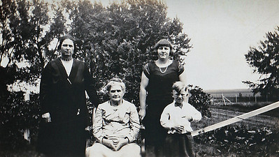 """Mary Bell- Anita Bell and Son, Grandma Reardon"""