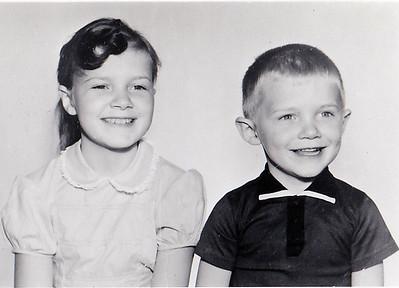 """Kaelin McGee, Eight years old on Feb. 14, 1960 Jon McGee, Four years old on Sept. 5, 1959"""