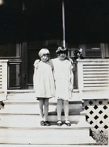 """""""Maxine Olson, Lucille has brown hair... Irene Swarty's sister, died in accident with iron."""""""