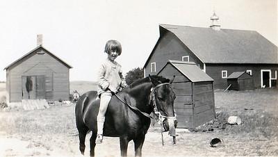 """Lillian Wilhelm, neighbor when Vera Mae lived near Logan School"""