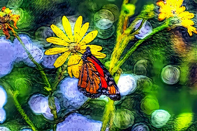 If Van Gogh Had Painted a Monarch Butterfly