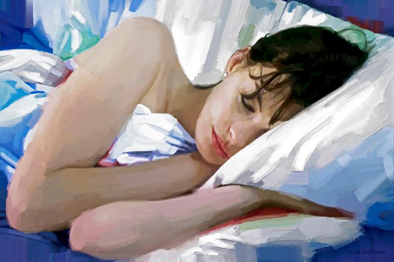 Anne Hathaway - Digital Painting