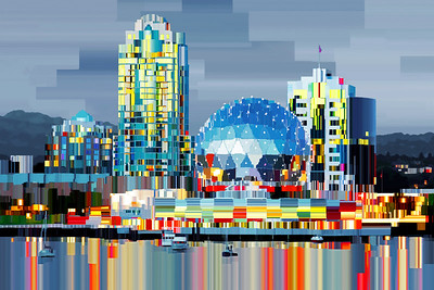 Vancouver BC - Digital Painting