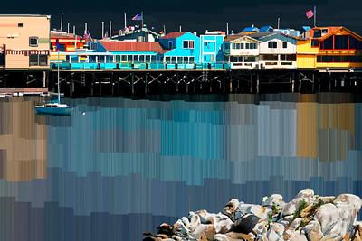 Monterey Bay, CA - Digital Painting