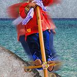 Girl on a Pole