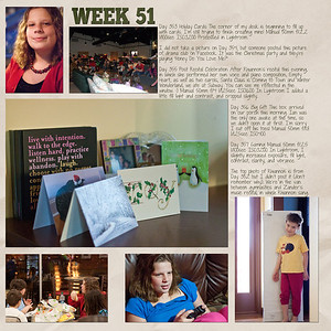 Week 51 papers by Andilynn Designs at ScrapMatters; week title template by Michelle Batton at Funky Playground Designs