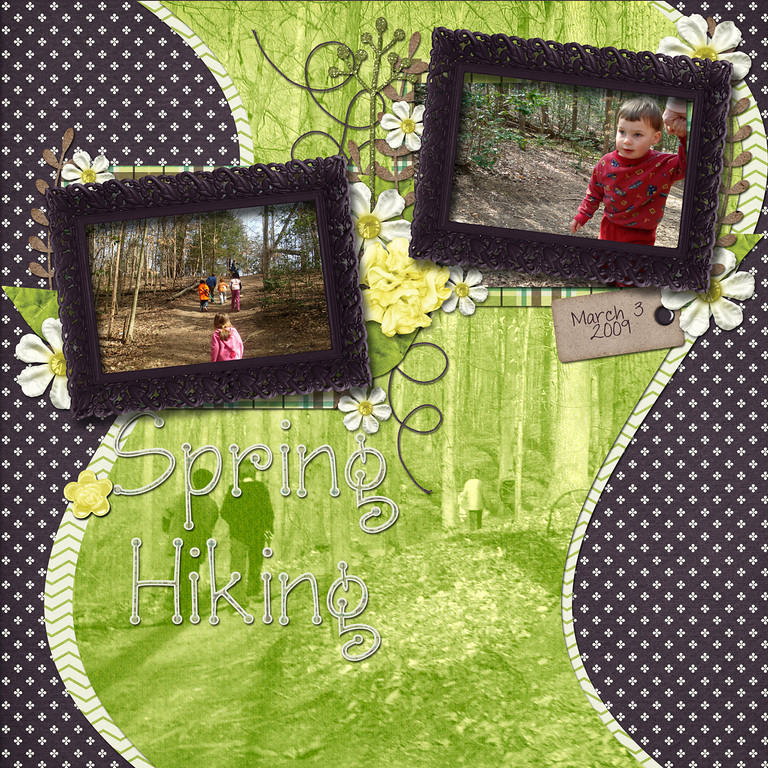 Down This Road Designs' Spring In My Step available at ScrapMatters March 9