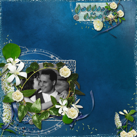 created for ScrapMatters February Challenge #5 in which we were to cluster like crazy; I tried, but I'm not a great clusterer Kashmir Nights by Siamese Studios available at ScrapMatters