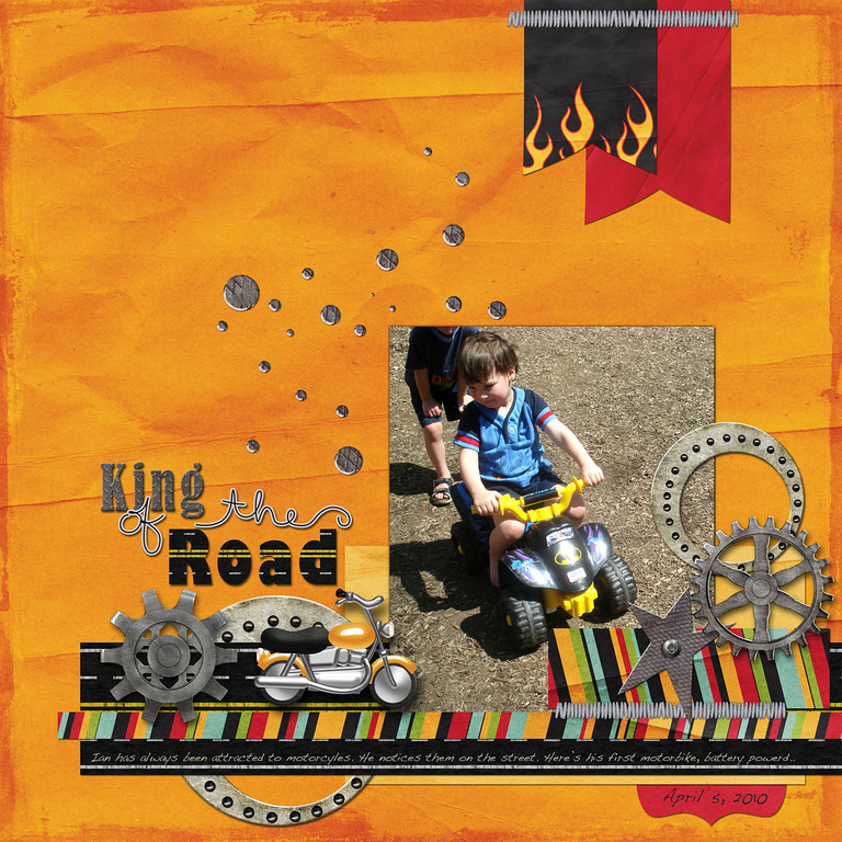 "template: Road Maps Volume 5 releasing Feb. 28<br /> kit: Wild Thing <a href=""http://shop.scrapmatters.com/wild-thing.html"">http://shop.scrapmatters.com/wild-thing.html</a><br /> both by Down This Road Designs"