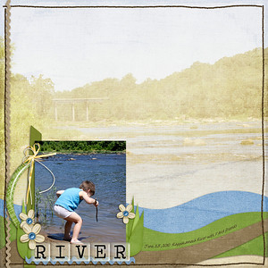 all items by Tracie Stroud at ScrapOrchard: kit - Capture Life July alpha - Clear as Glass wavy paper templates - Back To Basics Curves