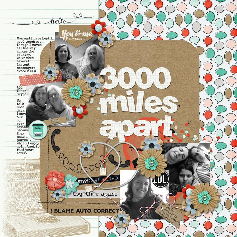 3000 Miles Apart