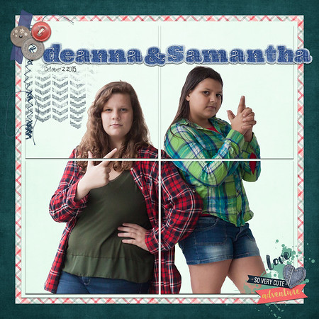 Deanna and Samantha