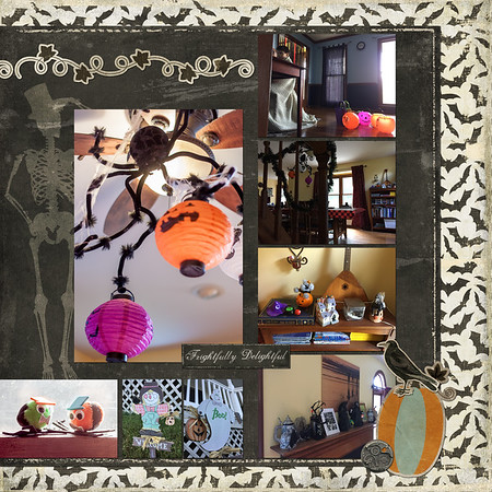 Halloween Decorating (RIGHT SIDE)