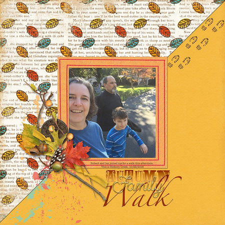 Autumn Family Walk