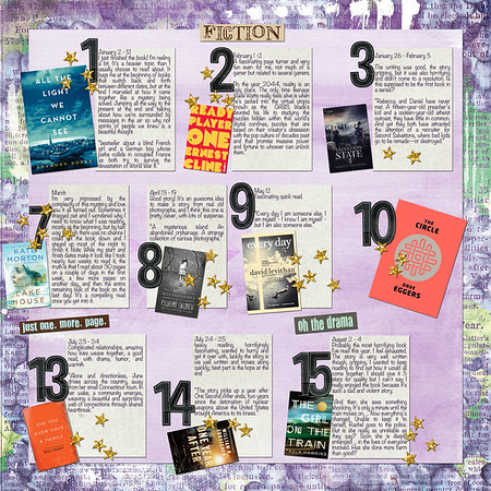 Twenty Sixteen Reading Goal (RIGHT SIDE)