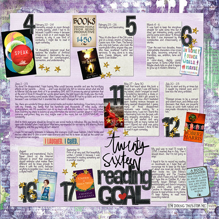 Twenty Sixteen Reading Goal (LEFT SIDE)