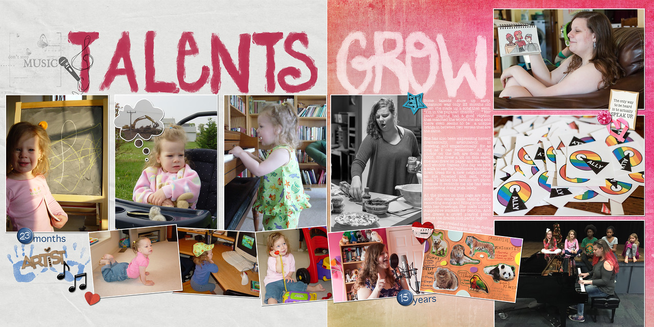 Talents Grow
