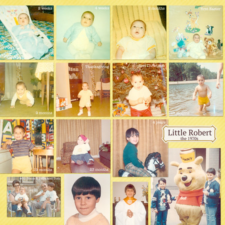 Little Robert - the 1970s