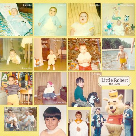 Little Robert - the 1970s
