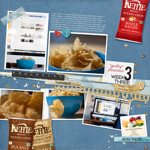 Project 52 Week 3 {Guilty Pleasures} - Kettle Brand Potato Chips
