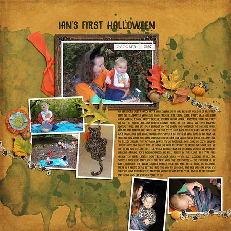 Ian's First Halloween