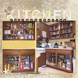 Kitchen reorganization