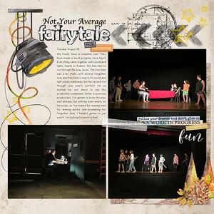 NYAF Tech Rehearsal