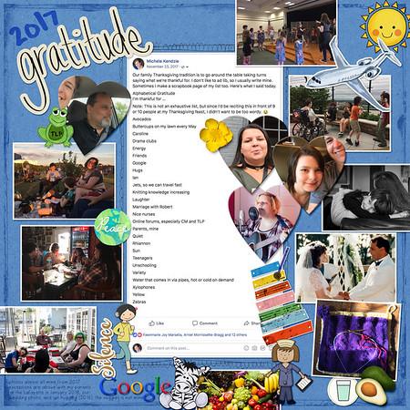 2017 Gratitude