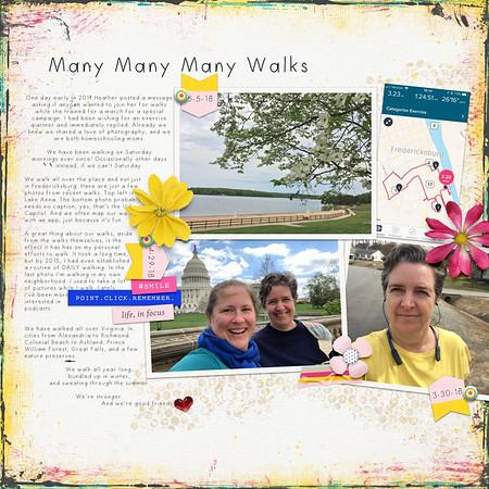 Many Many Many Walks