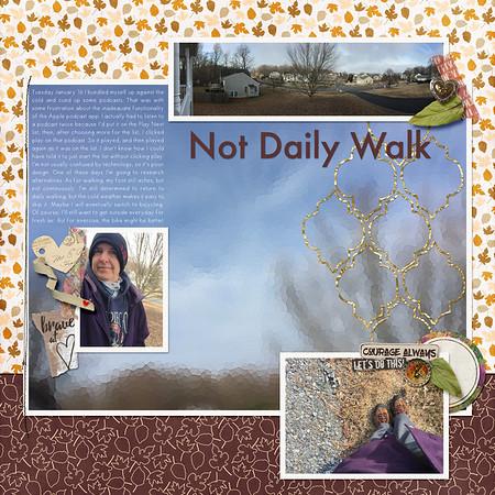 Not Daily Walk