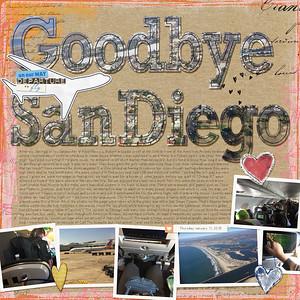 Goodbye San Diego