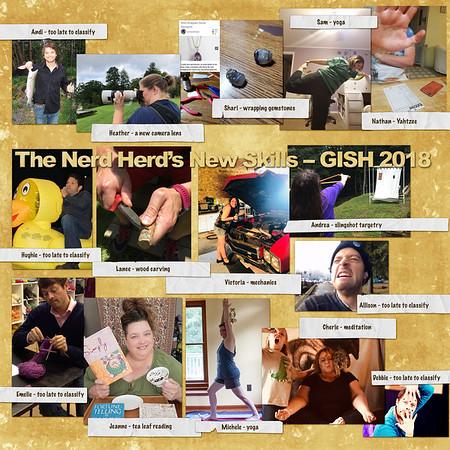 Nerd Herd New Skills for GISH 2018