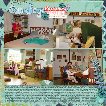 San Diego Christmas Vacation 2002