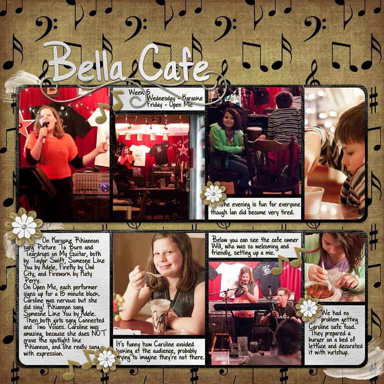 Week 05 Bella Cafe